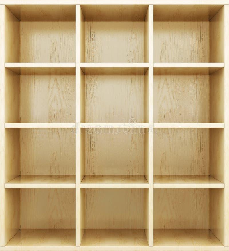 пустые полки деревянные 3d представляют цилиндры image бесплатная иллюстрация