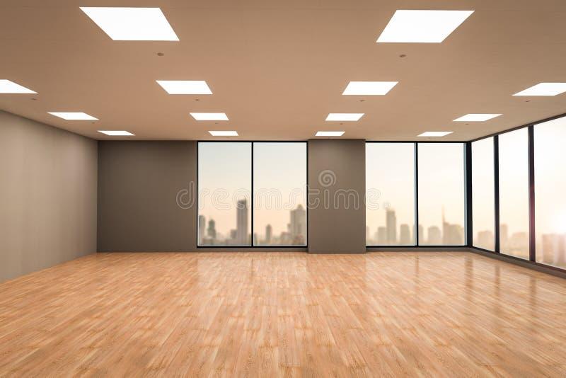 пустые размеры офиса стоковая фотография rf