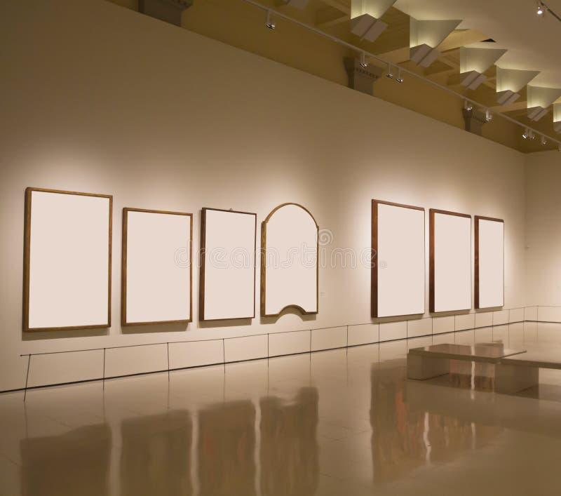 Пустые рамки в штольни стоковое изображение