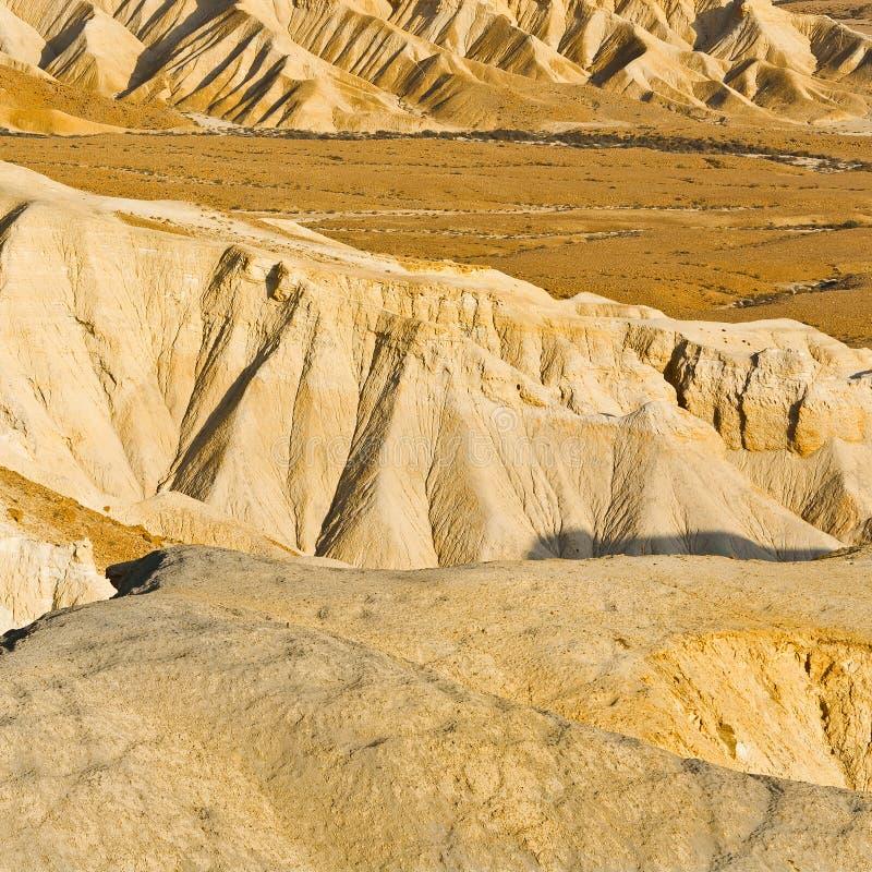 Пустыня в Израиле стоковые изображения