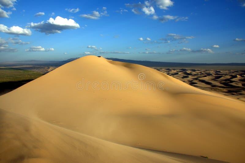 Пустыня Гоби стоковое изображение