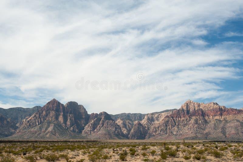 Пустыня горы стоковая фотография