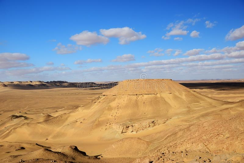пустыня Египет Сахара стоковое изображение