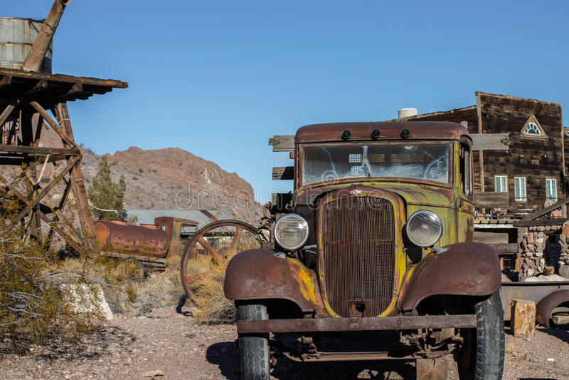 пустыня Невада стоковые изображения