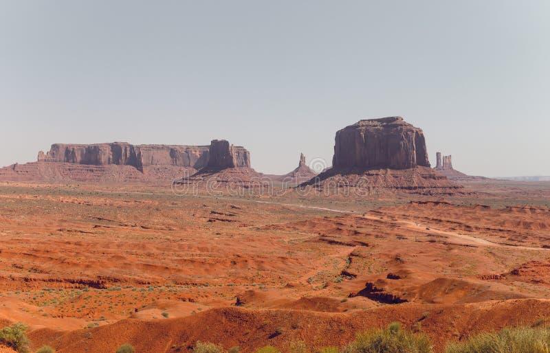 Пустыня юго-западные США, Юта и Аризона Дикие Запады Соединенные Штаты стоковое изображение