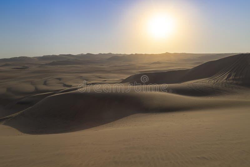 Пустыня Atacama, оазис Huacachina, Перу стоковые изображения rf