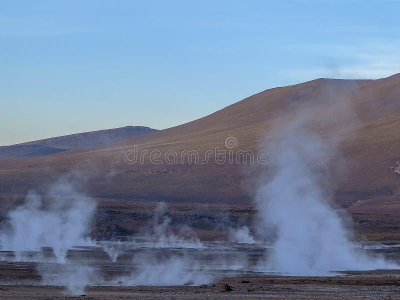 Пустыня Atacama, чилеански стоковые фотографии rf