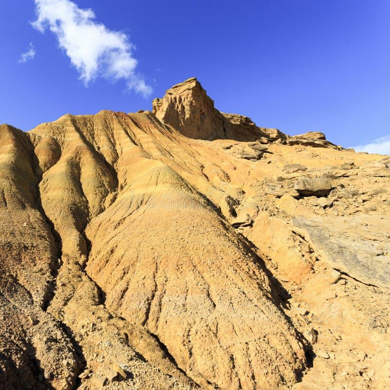 Пустыня Bardenas Reales в Испании стоковое изображение