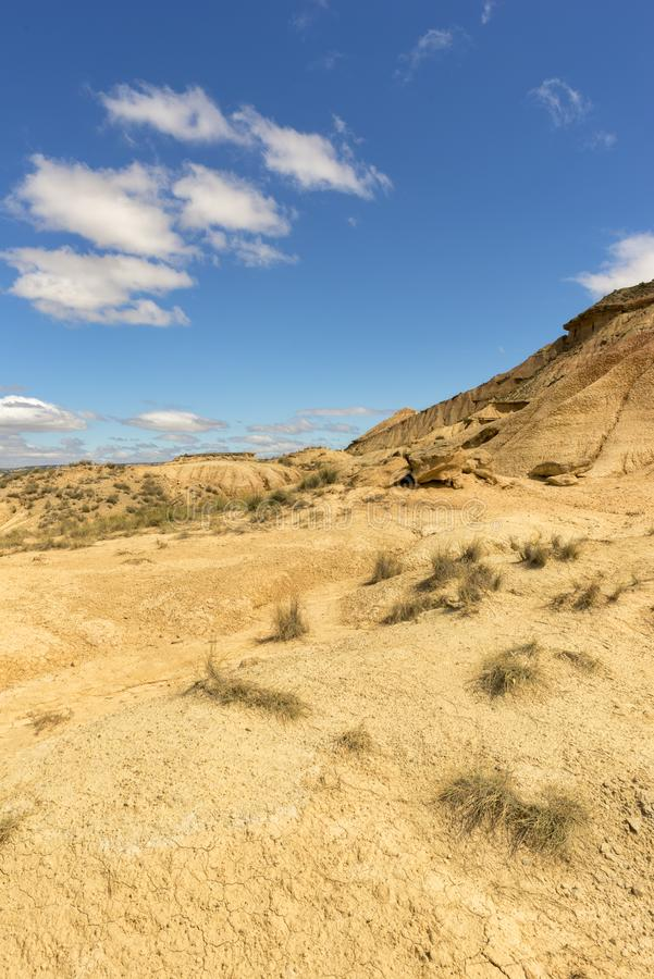 Пустыня reales bardenas стоковая фотография