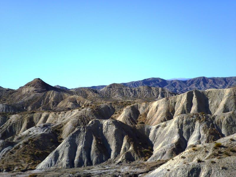Пустыня Tabernas стоковая фотография rf
