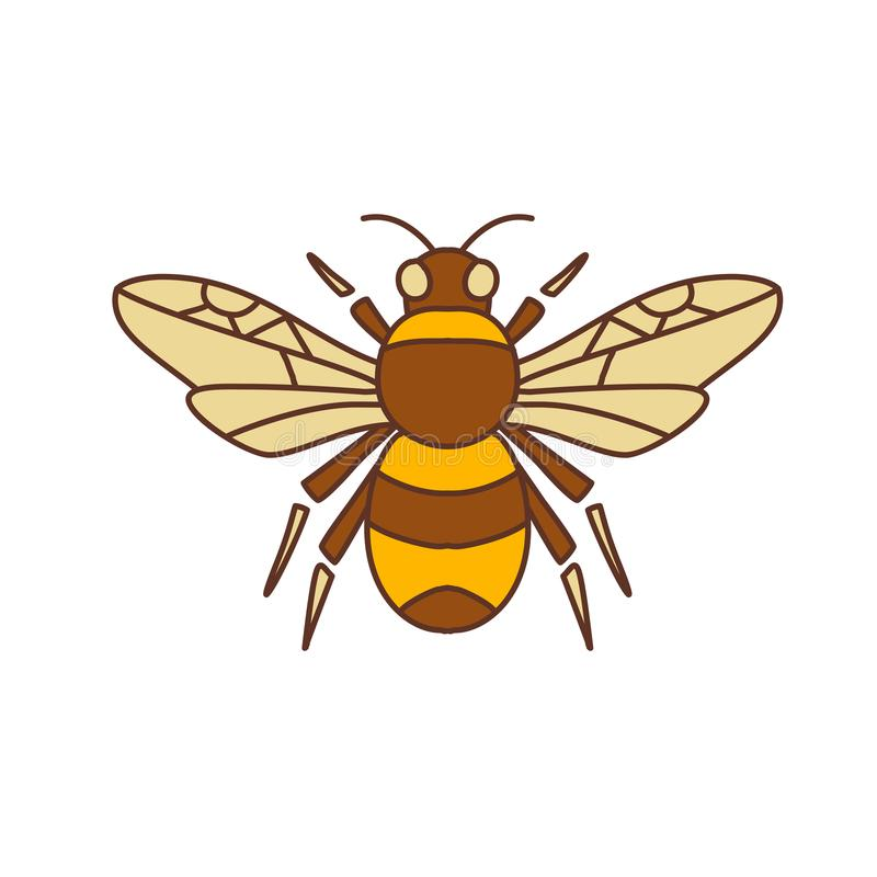 Путайте значок пчелы бесплатная иллюстрация