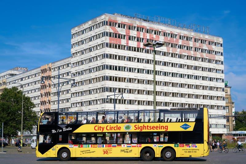 путешествие города в Берлине стоковое изображение