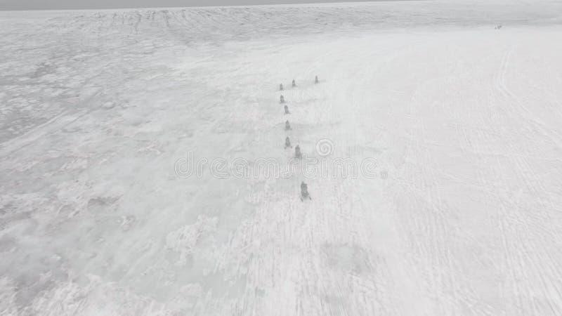 Путешествие снегохода в Исландии стоковые изображения