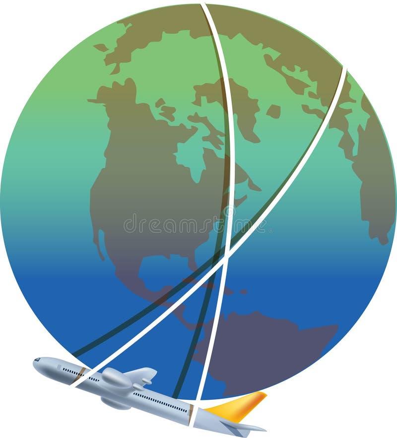 путешествие glob бесплатная иллюстрация