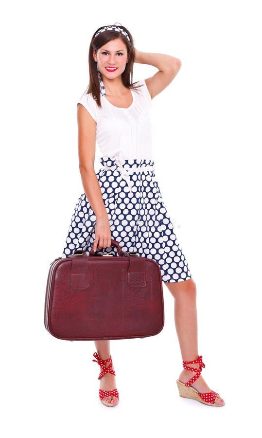 Путешествовать женщина стоковая фотография