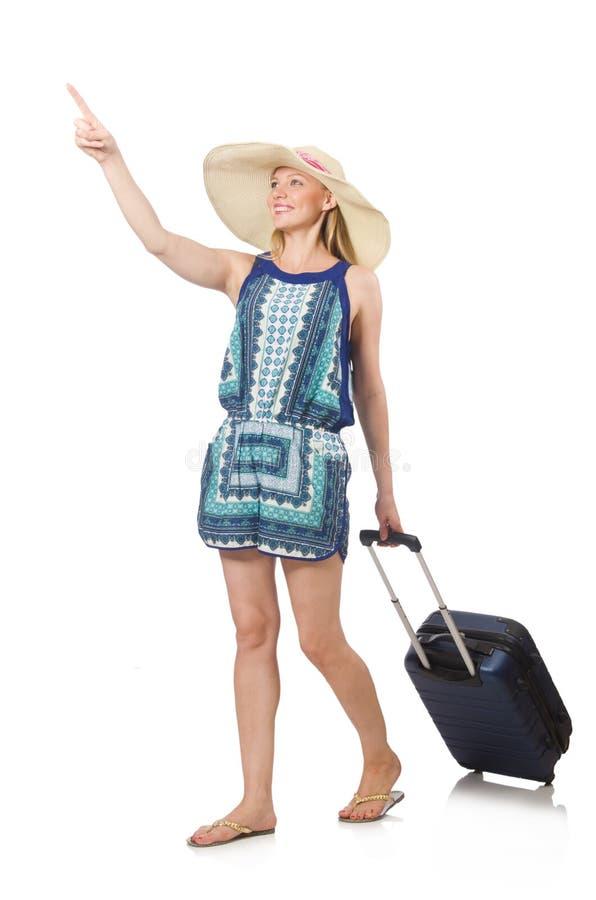 Путешествовать женщины стоковое фото rf