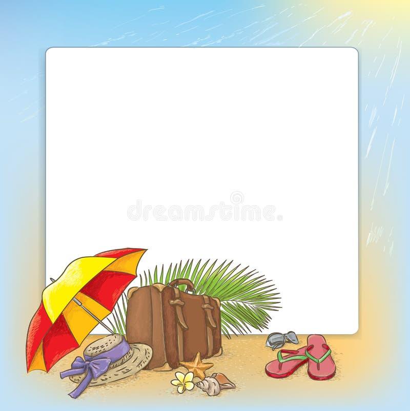 Download Путешествовать морским путем состав лета Иллюстрация вектора - иллюстрации насчитывающей иллюстрация, шлем: 41658802