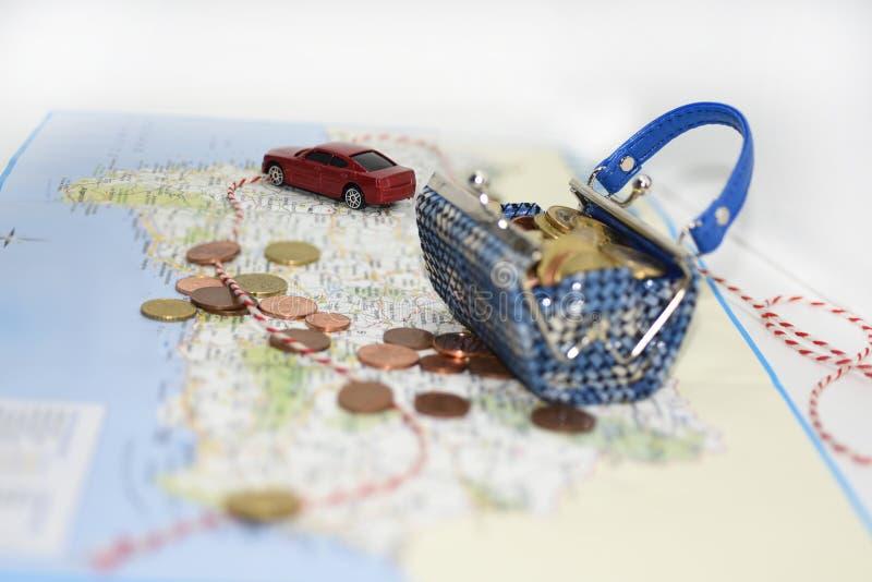Путешествовать трата денег стоковая фотография rf