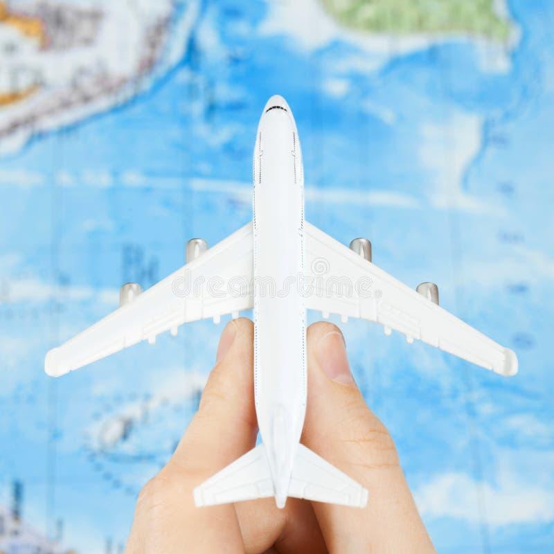 Путешествовать, туризм, сообщения и все вещи связали - один против одного коэффициент стоковые изображения