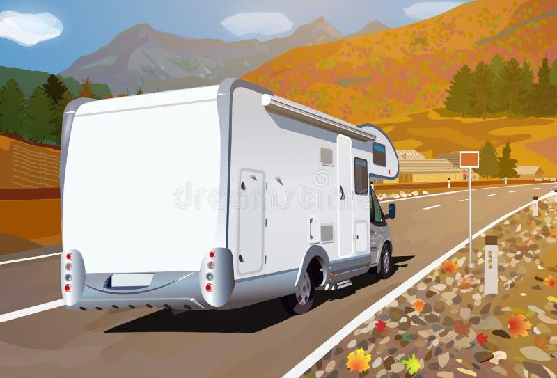 Путешествовать туриста иллюстрация штока