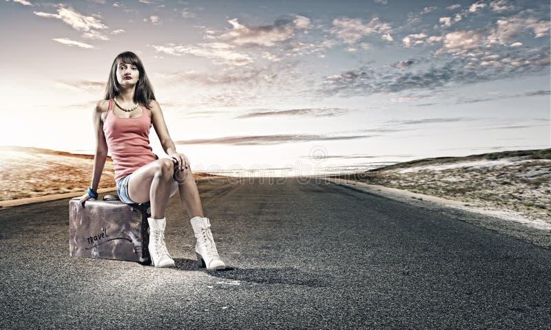 Download Путешествовать Autostop стоковое фото. изображение насчитывающей hitchhiker - 41651166