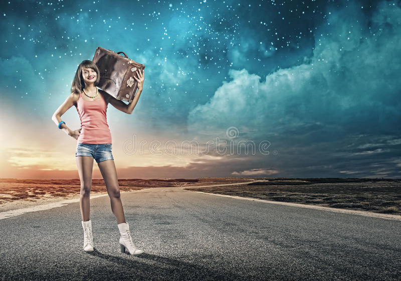 Download Путешествовать Autostop стоковое фото. изображение насчитывающей рука - 41652170