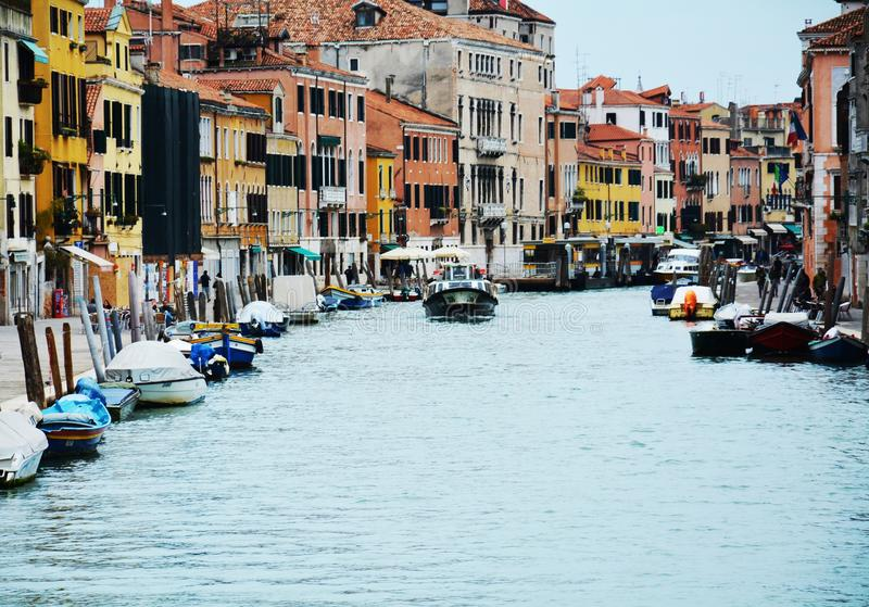 Путешествующ в Венеции, Италия стоковое фото rf