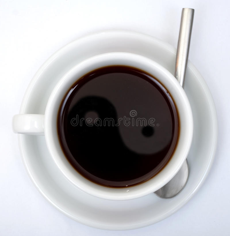 пути чашки coffe клиппирования стоковое фото