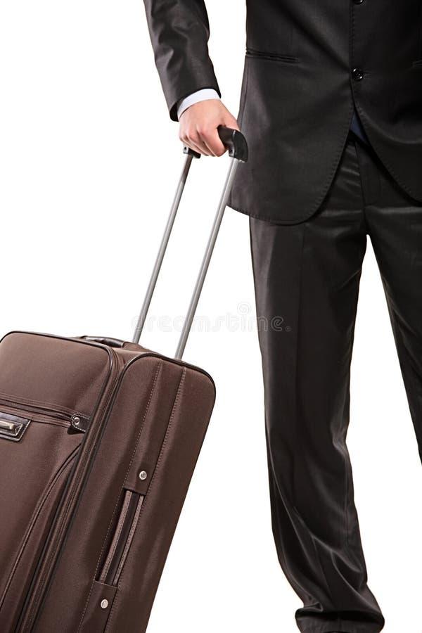 путник чемодана дела стоковые изображения rf