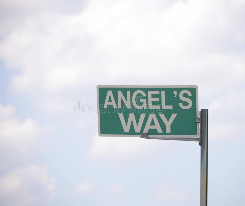 Путь Анджела стоковые изображения rf