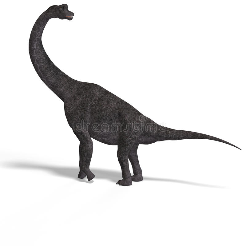 путь гиганта динозавра клиппирования brachiosaurus бесплатная иллюстрация