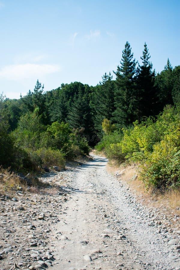 Путь гор стоковые изображения