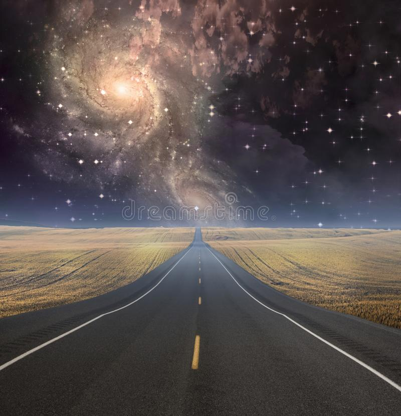 Путь исчезает в фоновом режиме стоковая фотография