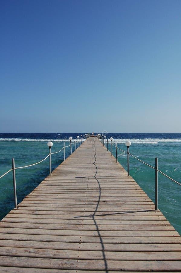 Путь к морю стоковая фотография rf