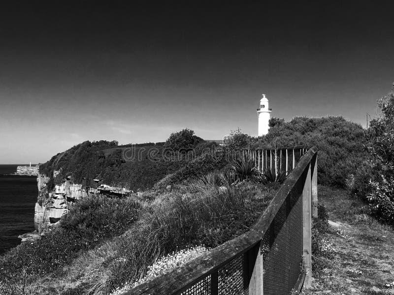 путь маяка к стоковые фотографии rf