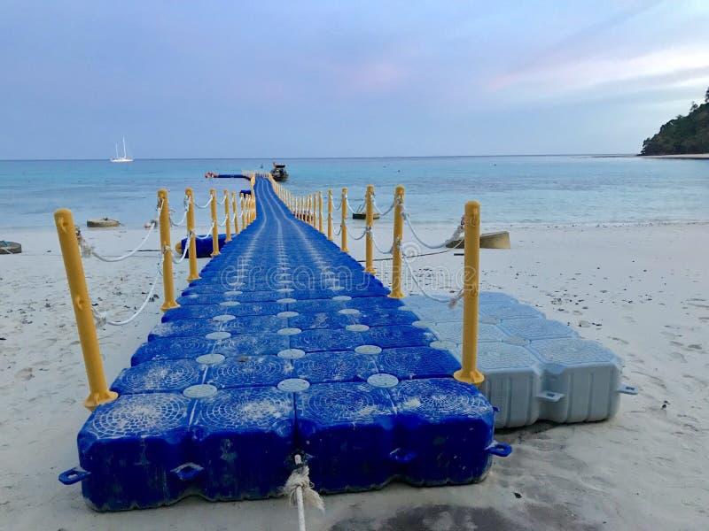 Путь море стоковое изображение