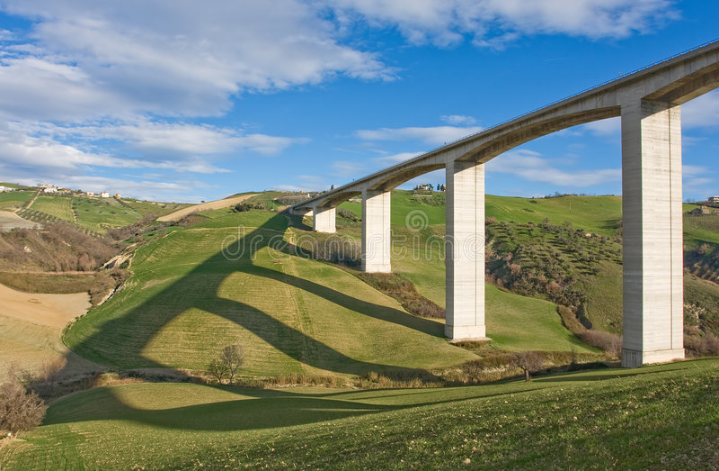 путь моста курьерский стоковые изображения