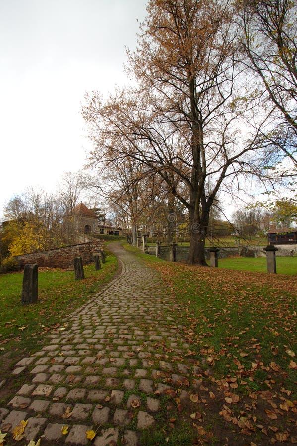 Путь на монастыре стоковое изображение