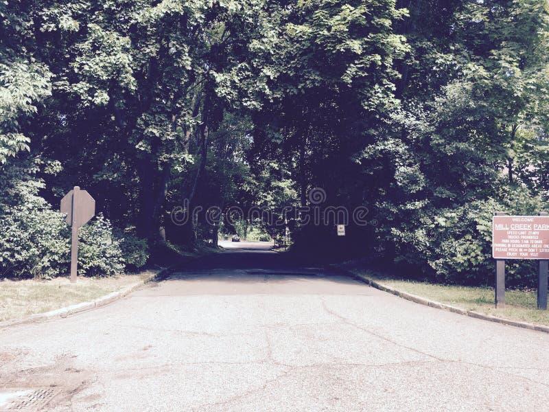 Путь дороги стоковое изображение