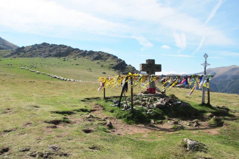 Путь Пиренеи стоковые фото