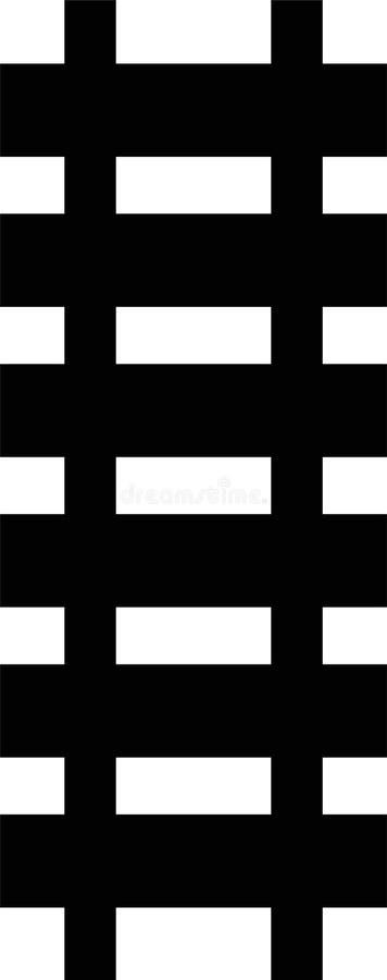Download путь рельса иллюстрация штока. иллюстрации насчитывающей railway - 6860698