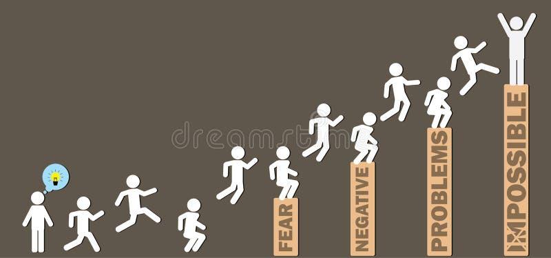 Путь успеха бесплатная иллюстрация