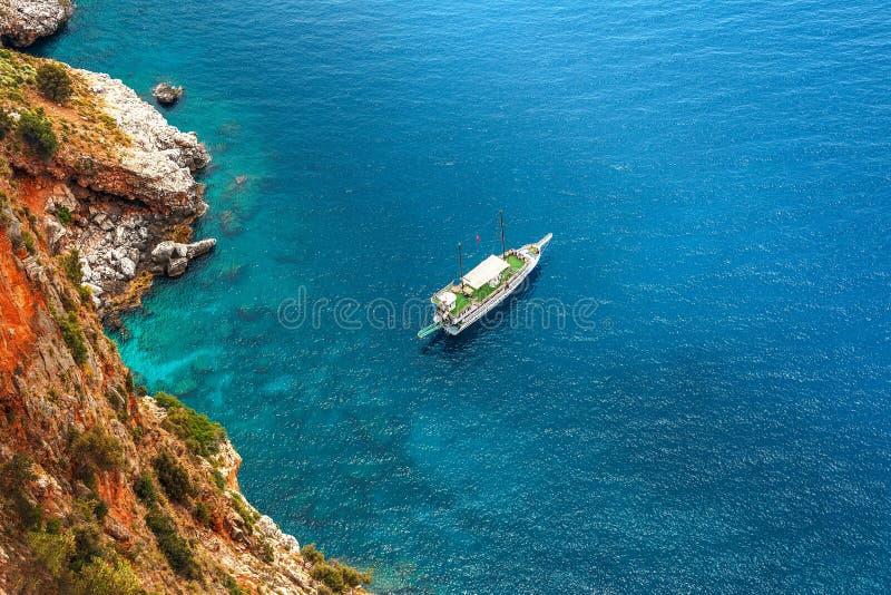 Путь яхты стоковая фотография