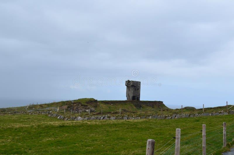 Путь Burren на ` s скалы Moher стоковые фотографии rf