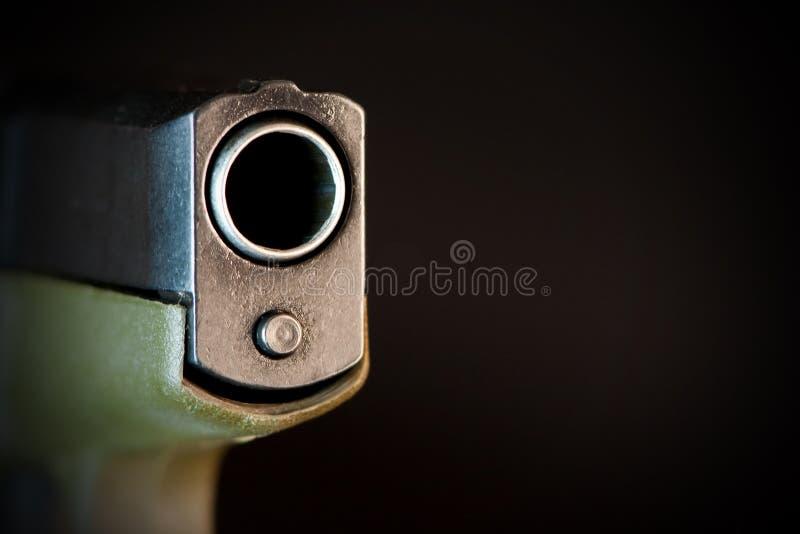 пушка бочонка стоковое изображение rf