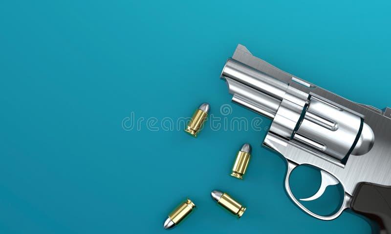Пушка с пулями бесплатная иллюстрация