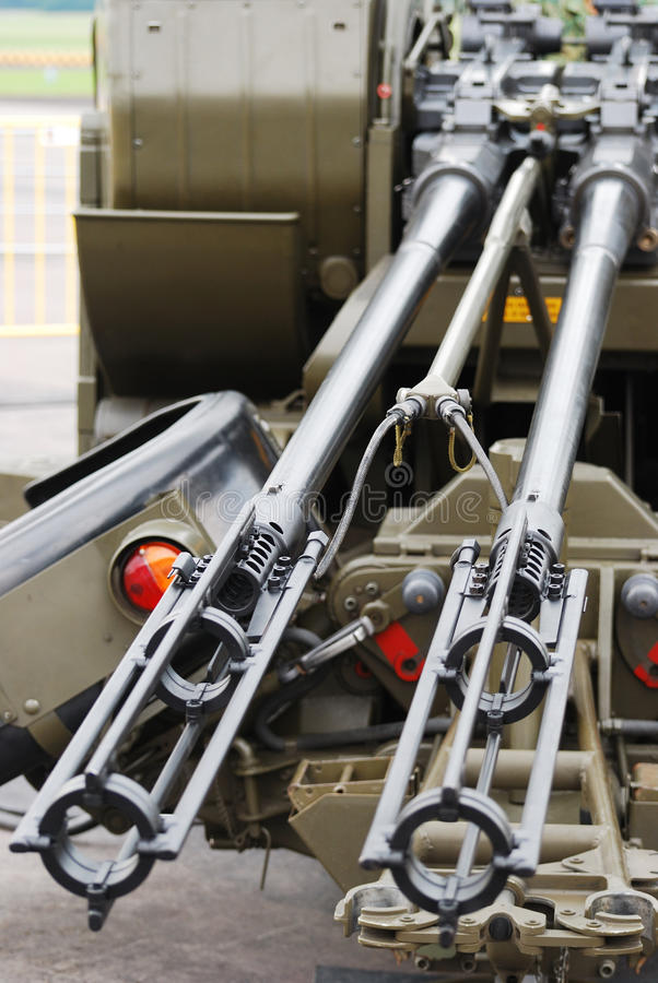 пушка aa стоковое изображение rf
