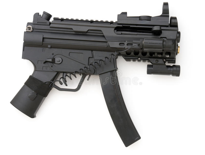 Пушка Submachine стоковая фотография rf