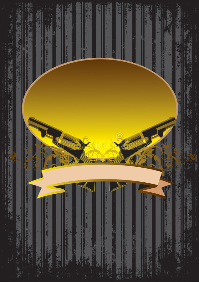 пушки предпосылки стоковая фотография rf
