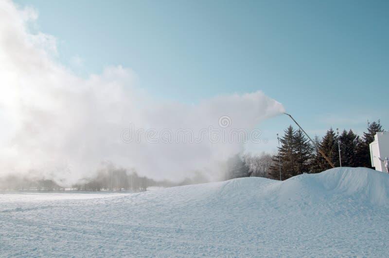 Пулемет снега стоковые изображения rf